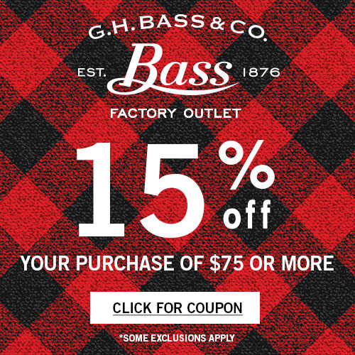 G.H. Bass Promotion