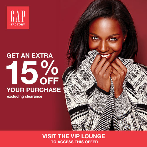 GAP FACTORY Promotion